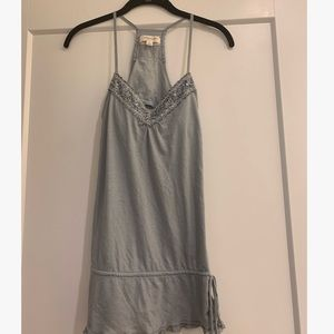 Rare Abercrombie & Fitch Embellished Lace Top